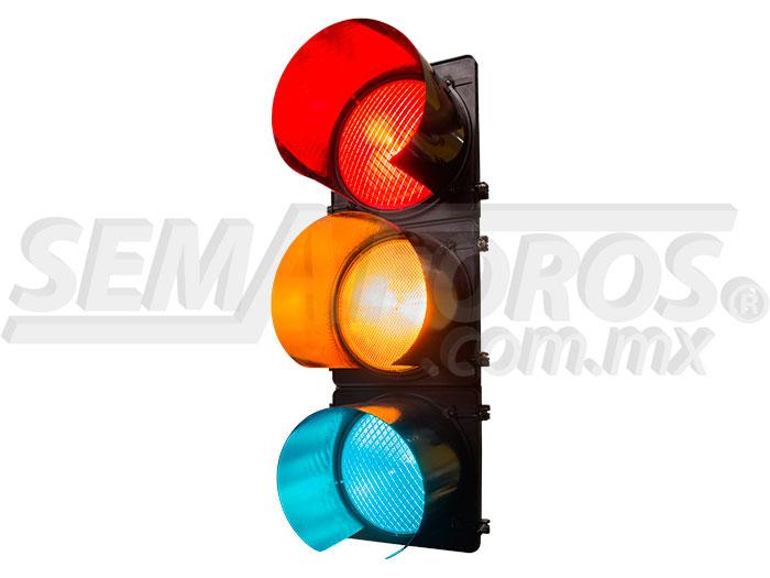 Semáforo led 30 cm mica de color Image