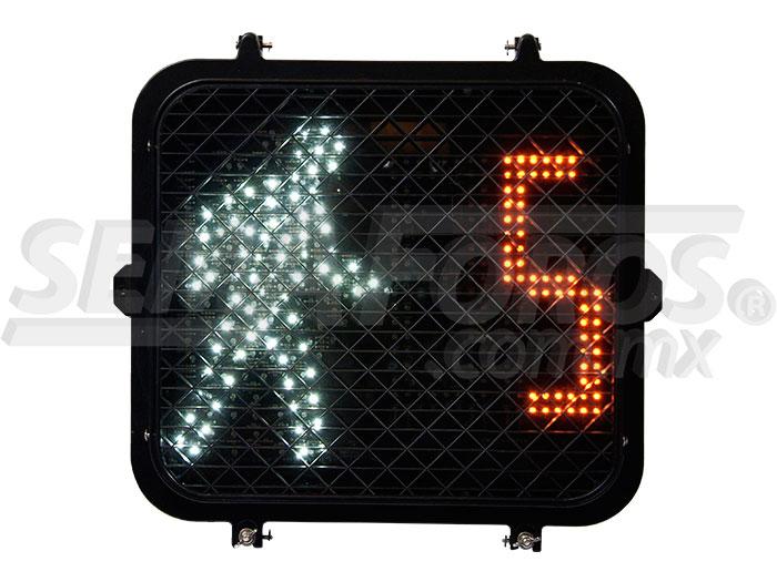Semáforo peatonal apariencia pixel Image