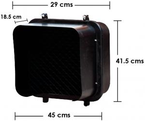 Semáforo Led Peatonal apariencia pixel
