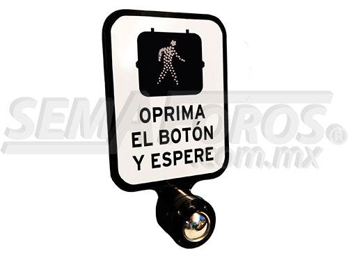 Botón para Semáforo Peatonal Push Button