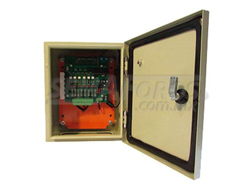 Semáforo actuado Sensor 4