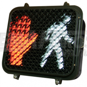 Semáforo Led Peatonal Mano/Mono apariencia Incandescente