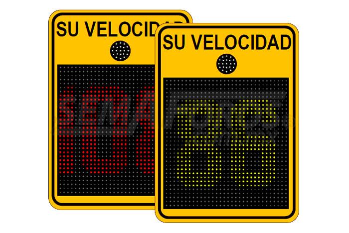 Radar de velocidad Safepace® Evolution 18FM