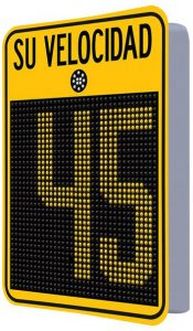 Radar de velocidad Safepace® Evolution18FM