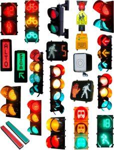 Semáforos tecnología LED